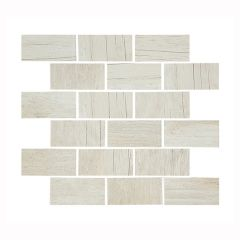 Houtbay Bleached Stagger Ceramic Mosaic